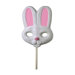 Giant Bunny Lollipop Masks: 6 PACK