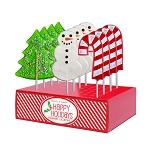 Holiday Lollipop Assortment: 12 Pack Display