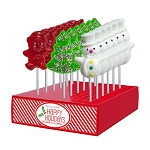 Large Holiday Lollipop Assortment: 24 Pack Display