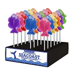 Flounder Fish Lollipops: 24 Pack Display