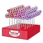 Frosted Love Lollipops: 24 Pack Display
