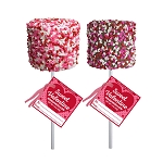 Giant Valentine Confetti Marshmallows: 12 Pack