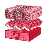 Giant Valentine Confetti Marshmallows: 12 Pack Display