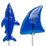 Shark & Fin Lollipop Assortment: 12 Pack