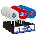 Nautical Lollipop Assortment: 24 Pack Display
