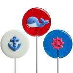 Nautical Lollipop Assortment: 12 Pack