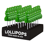 Leprechaun Lollipops: 24 Pack Display