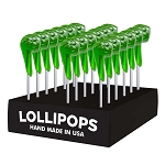 Lucky Pipe Lollipops: 24 Pack Display