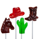 Western Lollipop Assortment: 12 Pack