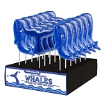 Whale & Tail Lollipop Assortment: 24 Pack Display