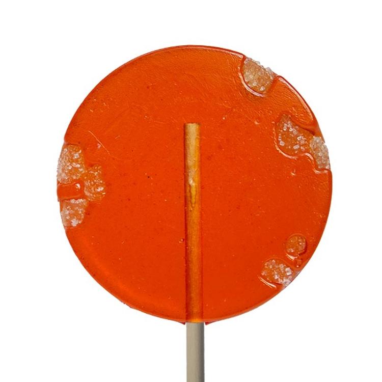 Pumpkin & Ginger Natural Lollipops: 12 Pack