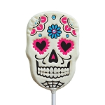Sugar Skull Lollipops: 24 Pack