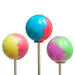 Super-Size Ball Lollipops: 12 Pack