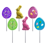 Easter Fun Lollipop Assortment: 12 Pack