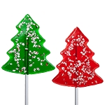 2oz Peppermint Tree Lollipops: 12 Pack