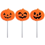 2oz Pumpkin Lollipops: 12 Pack