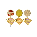 Strawberry & Champagne, Moscow Mule, & Champagne Bubbles Cocktail Lollipops: 12 Pack