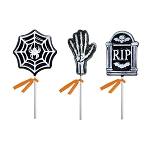 Frosted Halloween Lollipop Assortment: 12 Pack