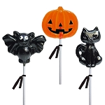 Cheerful Halloween Lollipop Assortment: 12