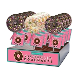 Marshmallow Confetti Doughnut Lollipops: 12 Pack Display