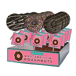Marshmallow Chocolate Doughnut Lollipops: 12 Pack Display