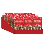 Hot Cocoa Rice Treat Bars: 12 Pack Caddy Display