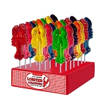 Assorted Colored Lobster Lollipops: 24 Pack Display
