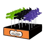 Sanded Witch Lollipop Assortment: 24 Pack Display