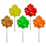 Autumn Leaf Lollipops: 12 Pack