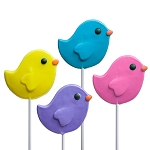 Spring Bird Lollipops: 24 Pack