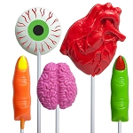Body Part Lollipop Assortment: 12 Pack