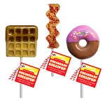 Breakfast Lollipops: 12 Pack