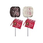 Peppermint Brownie Pops: 12 Pack