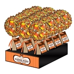 Candy Corn Cookie Pops: 18 Pack Display