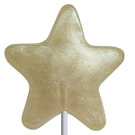 Champagne Star Lollipops: 24 Pack