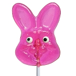 Bunny Face Lollipops: 24 Pack