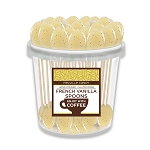 FRENCH VANILLA COFFEE SPOONS: 50 Pack Bucket