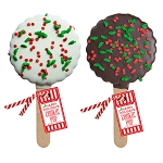 Holiday Confetti Cookie Pops: 12 Pack