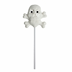 Skull & Crossbone Lollipops: 12 Pack