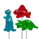Dinosaur Lollipops: 12 Pack