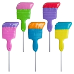Kosher Dipped Paintbrush Lollipops: 12 Pack