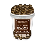 Salted Caramel & Chocolate Dipped Spoons: 30 Pack Bucket