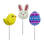 Fancy Easter Lollipop Assortment: 24 Pack