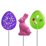 Easter Fun Lollipop Assortment: 24 Pack