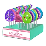 Easter Fun Lollipop Assortment: 24 Pack Display