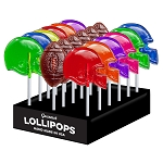 Football Lollipop Assortment: 24 Pack Display