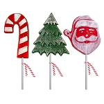 Frosted Holiday Workshop Lollipops: 12 Pack