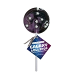 Galaxy Circle Lollipops: 24 Pack