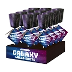 Galaxy Lolli-Shots: 12 Pack Display