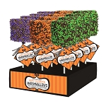 Giant Chocolate Dipped Halloween Marshmallows: 12 Pack Display